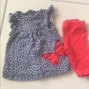 Floral/ butterfly outfit